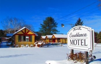 Winter vacation at Casablanca Motel